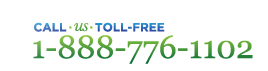 Call us Toll-Free at 1-888-776-1102 from Canada